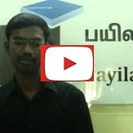 Dinesh (TechAffinity) - Payilagam Placements -.NET Training in Chennai