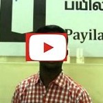 Subash(Supreme Technologies) - Payilagam Placements - Software Testing Training in Chennai
