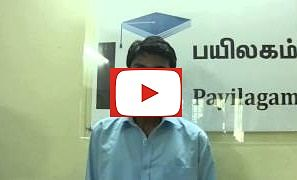 Vignesh(wanDISCO) - Payilagam Placements - Software Testing Training in Chennai