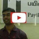 Vimal - Payilagam Placements - .NET Training in Chennai